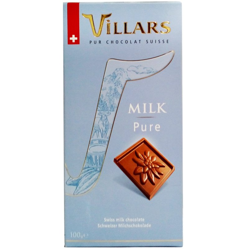 Tabletă Villars Pure Milk