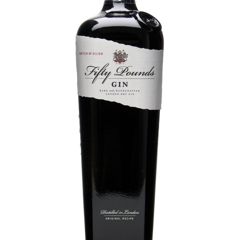 Gin englezesc Fifty pounds